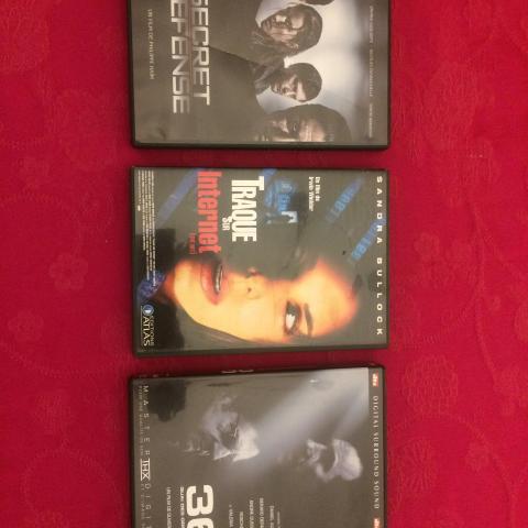 troc de  3 DVD action 1, sur mytroc