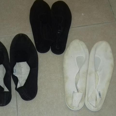 troc de  3 paires de chaussons de gym, sur mytroc