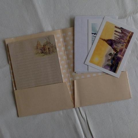 troc de  Papier correspondance avec 2 cartes, sur mytroc