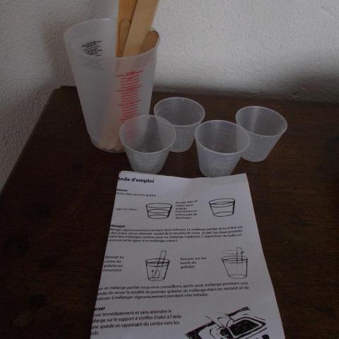 troc de  kit pour resine, sur mytroc