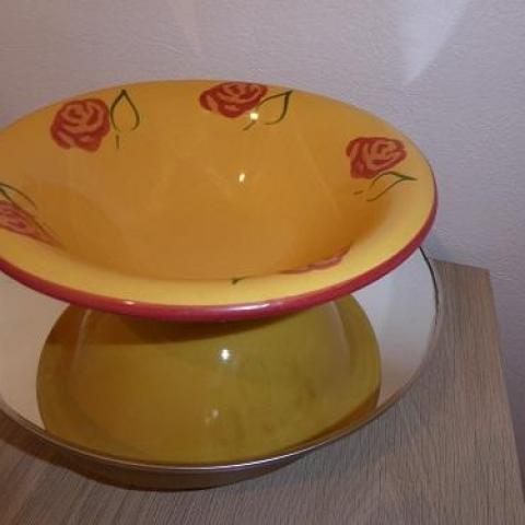 troc de  RESERVE petite assiette style provençal, sur mytroc