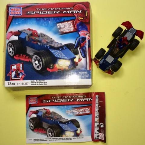 troc de  Spiderman speedracer - Collector rare - Megabloks 91337, sur mytroc