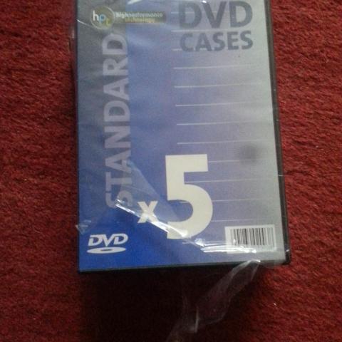 troc de  Lot de 5 boites pour DVD (NEUF) Lot de 5 boîtes pour dvd. Produit, sur mytroc