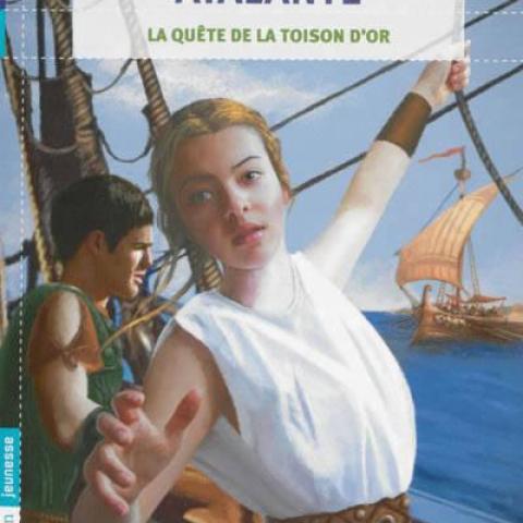 troc de  livre Atalante la quête de la toison d'or Anne-Sophie Silvestre, sur mytroc