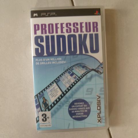 troc de  Jeu PSP Professeur Sudoku, sur mytroc