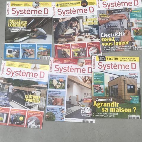 troc de  Lot de 7 magazines système D, sur mytroc