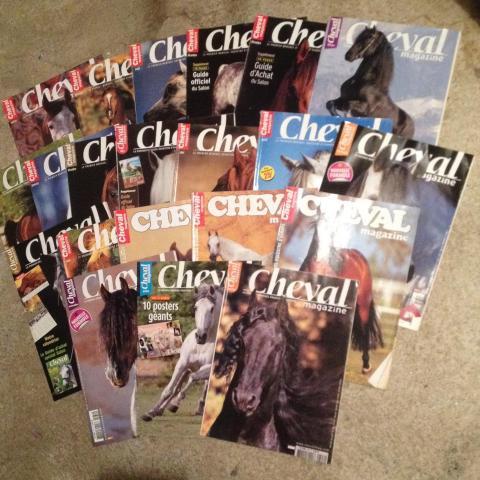 troc de  3 lots de magazine équestre, sur mytroc