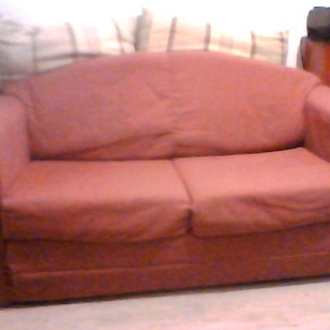 troc de  canapé convertible rouge, sur mytroc