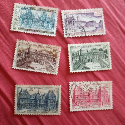 troc de  Lot timbre palais 2, sur mytroc