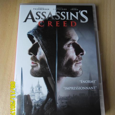 troc de  DVD Assassin's Creed Parfait Etat, sur mytroc