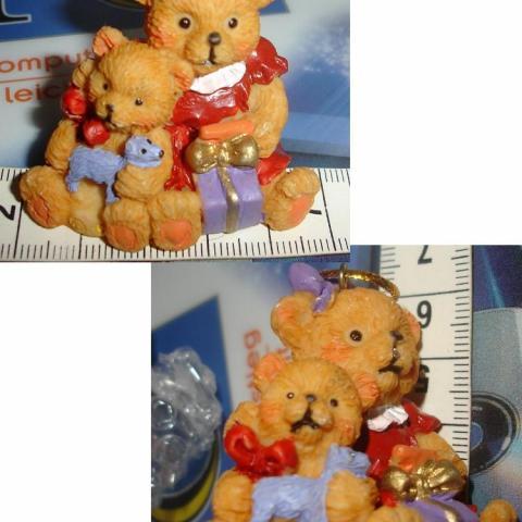 troc de  Oursonne & ourson avec cadeaux à poser ou suspendre NEUF, sur mytroc