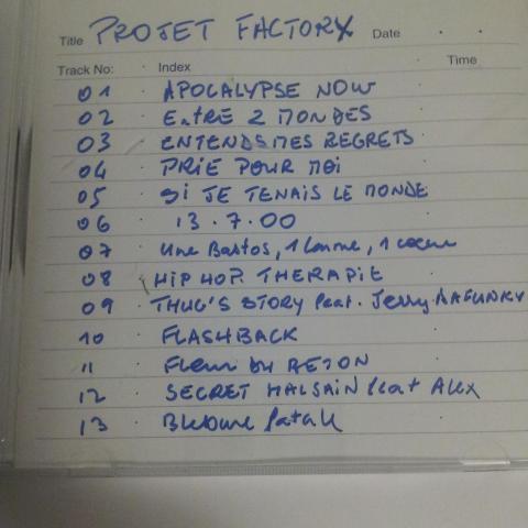 troc de  Copie Projet Factor X, sur mytroc