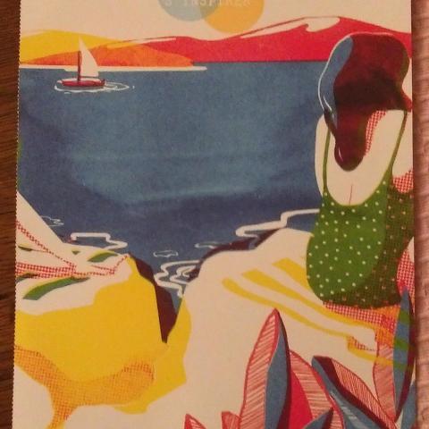 """troc de  Affiche """"A la mer""""., sur mytroc"""
