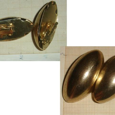 troc de  Rés. à 1977CoCo le 14/01/2021 >BO en métal doré de forme ovale, sur mytroc