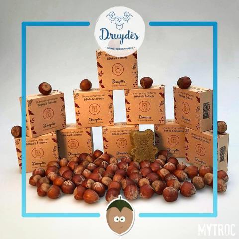 troc de  **EPUISE** Shampoing naturel pour bébés - Druydès, sur mytroc