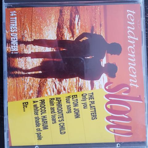 troc de  CD spécial slow, sur mytroc