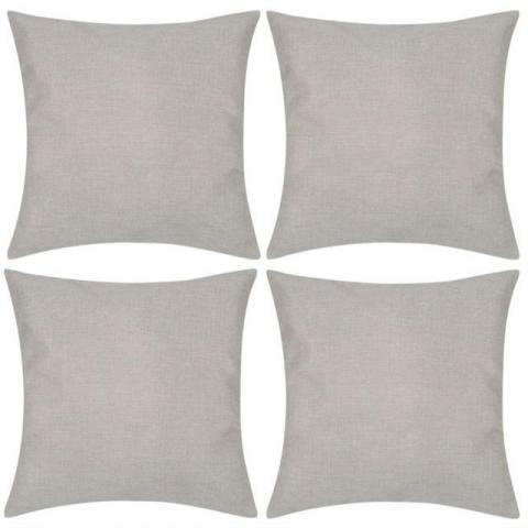 troc de  **Recherche** taies d'oreiller 60x60 en lin ou coton bio, sur mytroc