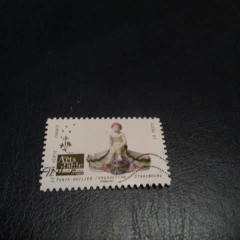 troc de  timbre art de la table : porte-huilier strasbourg, sur mytroc