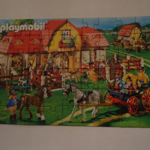 troc de  Puzzle Playmobil dans son emballage TBE, sur mytroc