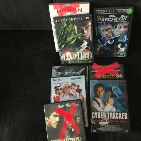 troc de  dvd divers, sur mytroc