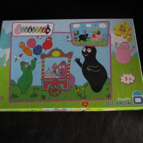 troc de  boîte deux puzzles barbapapa, sur mytroc