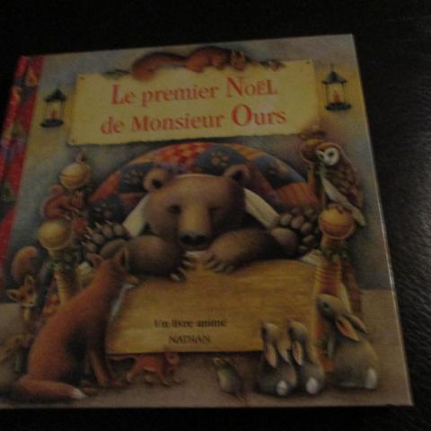 troc de  album animé : le premier noel de monsieur ours, sur mytroc