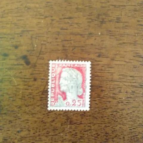 troc de  timbre obliteré (5), sur mytroc