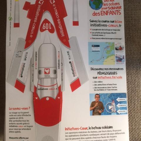 troc de  kit Vendée Globe Initiatives Coeur, sur mytroc