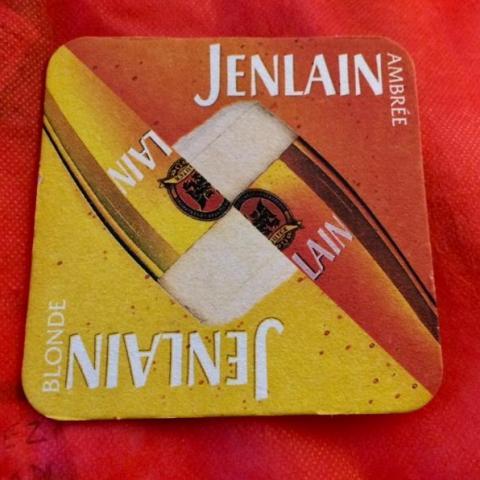 troc de  Sous Bock Jenlain -- dessous de verre, sur mytroc