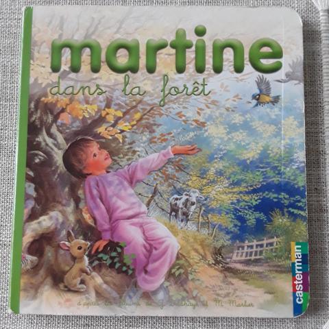 troc de  Petit livre cartonné Martine dans la forêt, sur mytroc