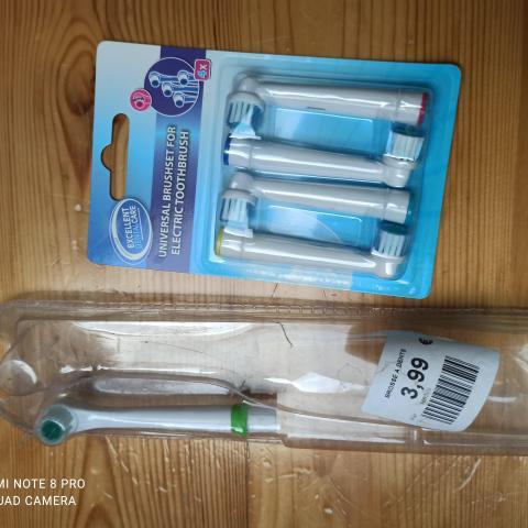 troc de  reserve  Pour brosse à dent électrique neuve, sur mytroc