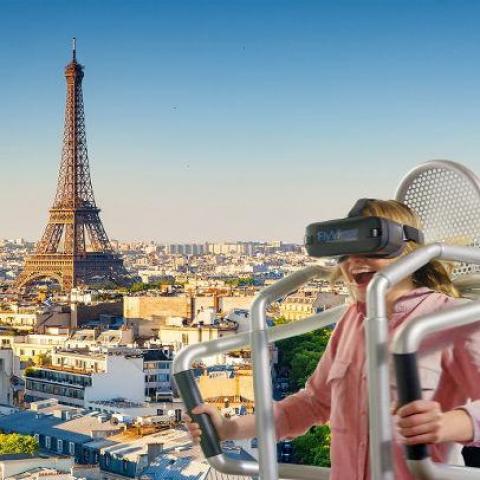 troc de  *EPUISE* Survol de Paris dans un Jet Pack en Réalité Virtuelle, sur mytroc