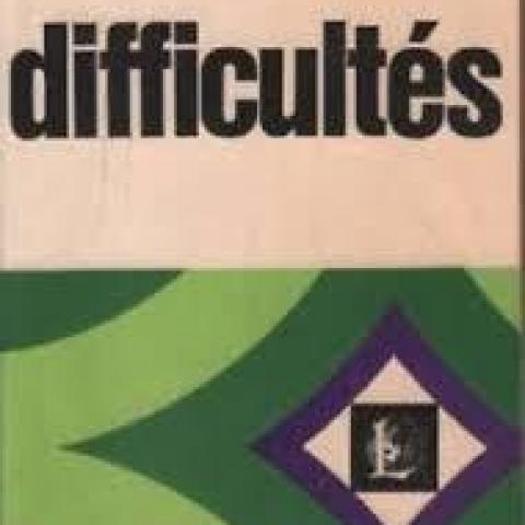 troc de  Dictionnaire des difficultés de la langue francaise, sur mytroc
