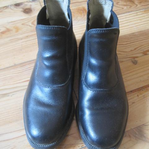 troc de  bottines d'équitation en cuir, taille 36, sur mytroc