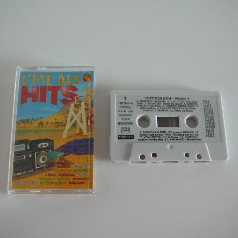 troc de  Cassette audio l'été des hits, sur mytroc