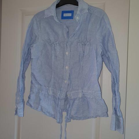 troc de  chemise bleue, sur mytroc