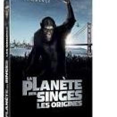 troc de  DVD - La Planète des Singes - Les Origines, sur mytroc