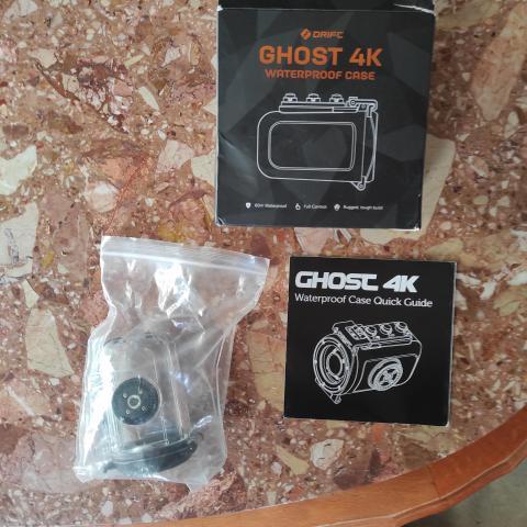 troc de  coque camera ghost 4k waterproof, sur mytroc
