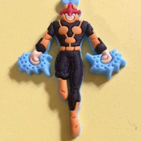 troc de  Mini médaillon Marvel Super Héros NOVA - neuf, sur mytroc