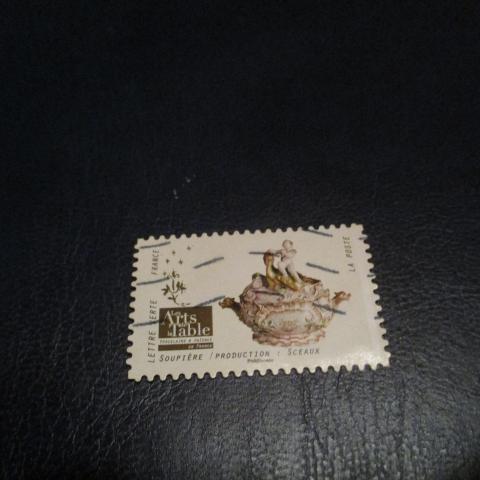 troc de  timbre art de la table : soupière sceaux, sur mytroc