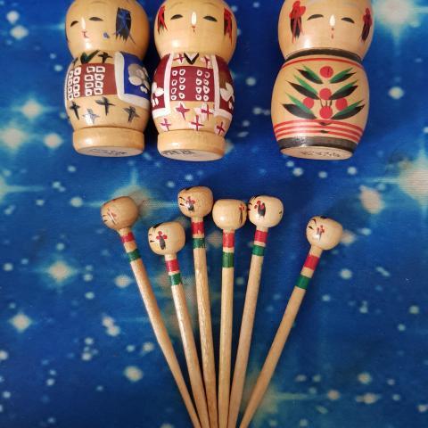 troc de  Ensemble sel poivre piques en bois Japonais, sur mytroc