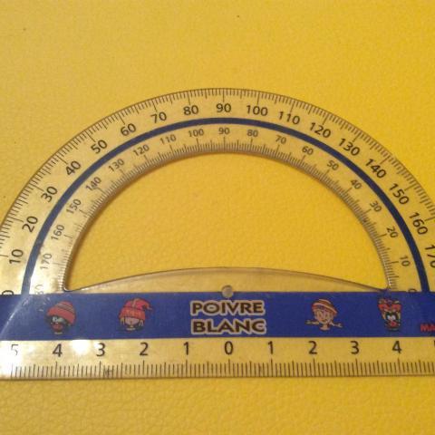 troc de  Réserve Sebastien Rapporteur en plastique 10 cm des années 90 Poivre Blanc, sur mytroc