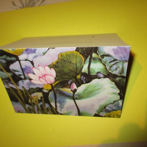 troc de  carte avec fleur, sur mytroc
