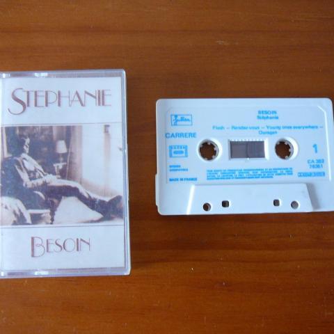 troc de  Cassette audio Stéphanie, sur mytroc