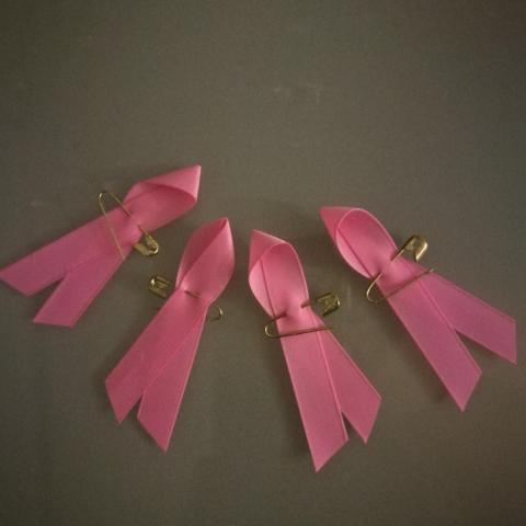 troc de  4 Rubans roses Lutte contre le cancer, sur mytroc