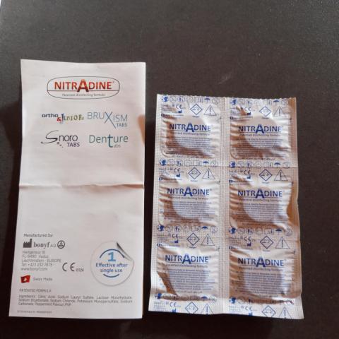troc de  Pastilles désinfectantes pour gouttières appareil dentaire, sur mytroc