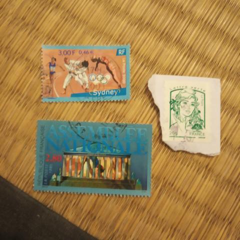 troc de  Lot timbres divers, sur mytroc
