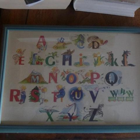 troc de  cadre alphabet, sur mytroc