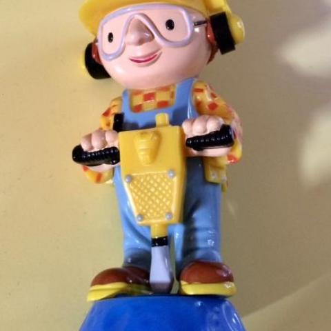 troc de  Figurine ouvrier marteau piqueur - 10 cm - très bon état, sur mytroc