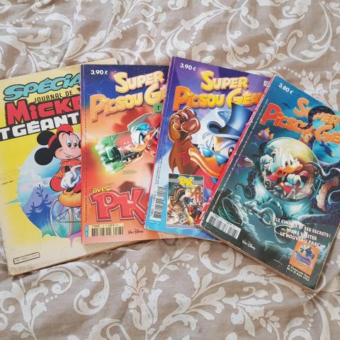troc de  Lot magazines Mickey et picsous, sur mytroc